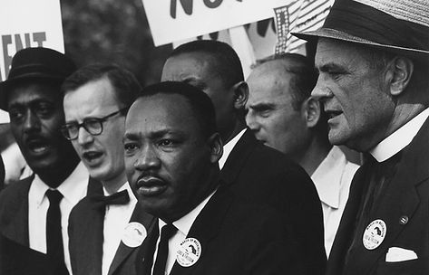 King at the 1963 Civil Rights March on Washington, D.C.