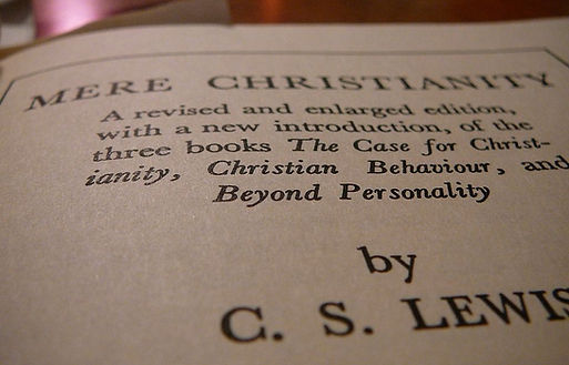 Mere Christanity by CS Lewis