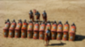 Roman Soldiers in formation