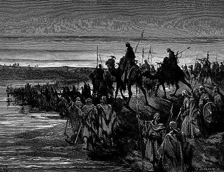 Joshua Crossing the Jordan - History's Page