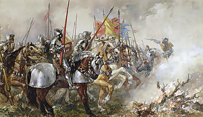 Chaos at the battle of Agincourt