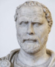 Demosthenes bust (sculpture).