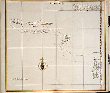 An old sailors map