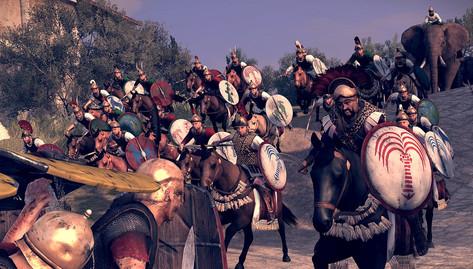 Roman troops
