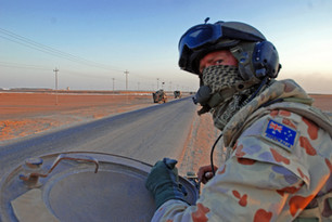 ADF troops in combat, Iraq