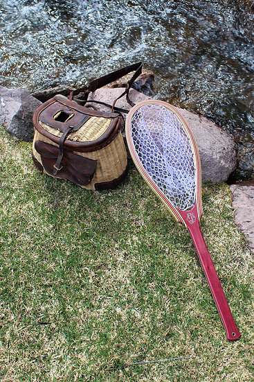 Purple Heart Logo Landing Net