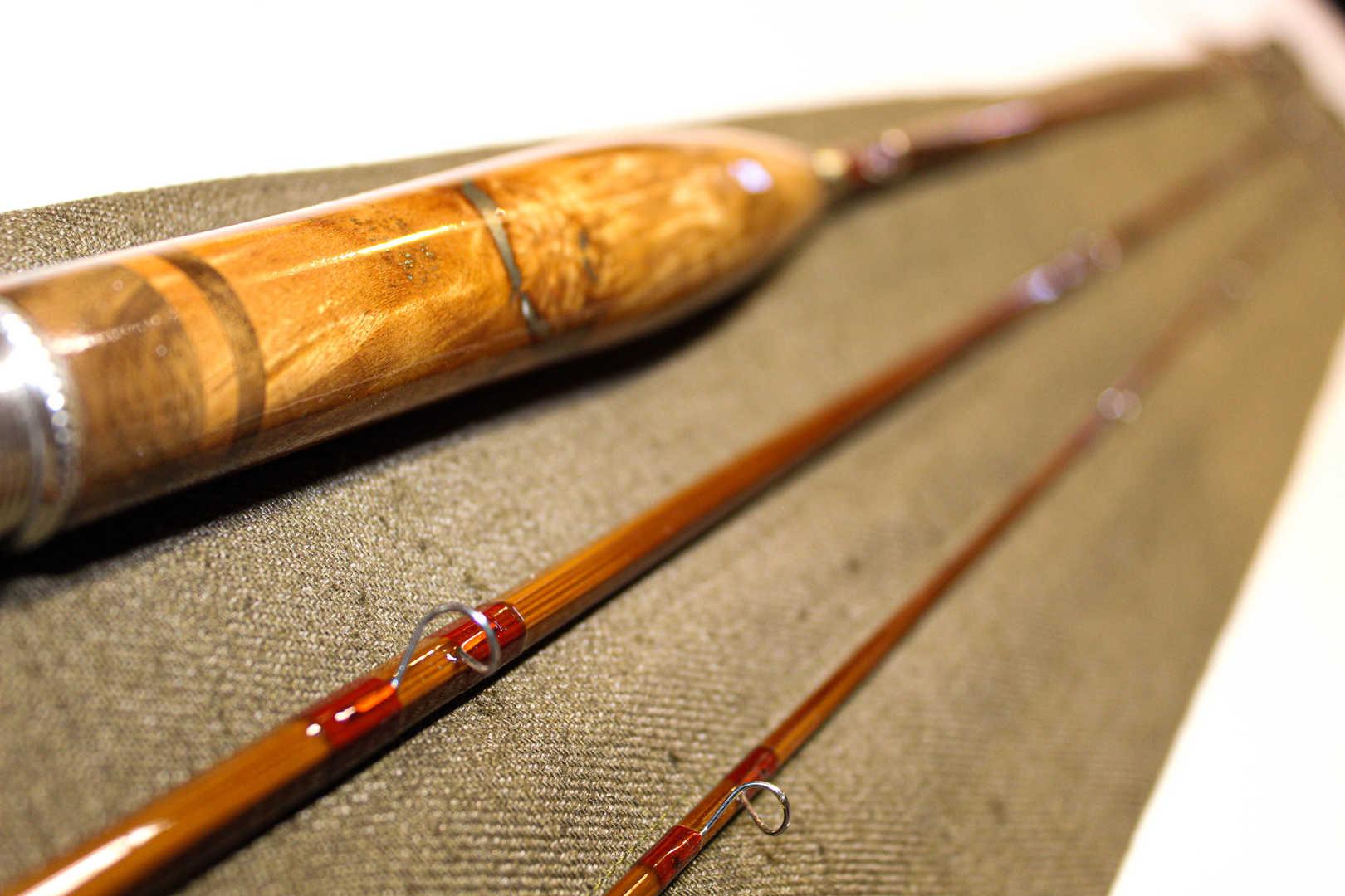 Three Piece, One Tip Bamboo Rod
