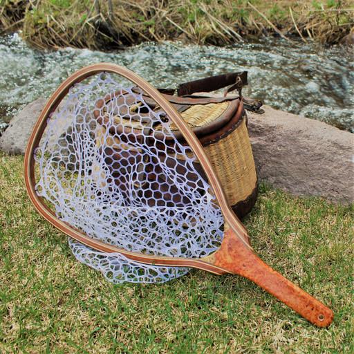 Amboyna Burl Landing Net