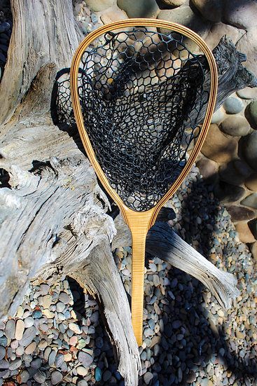 Curly Maple Landing Net