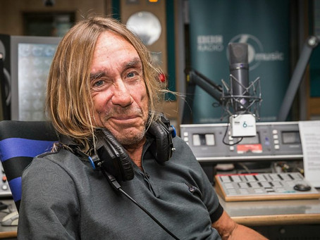 IGGY POP, radio  BBC6, playlist FREE RIVER !