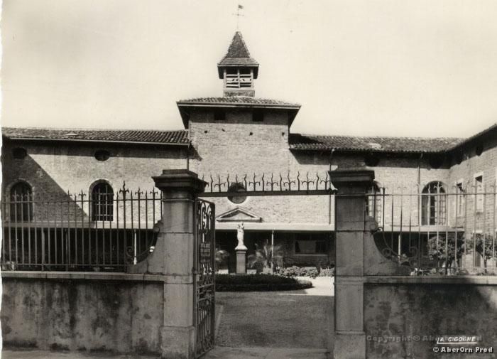 Ancien Hôpital, carte postale