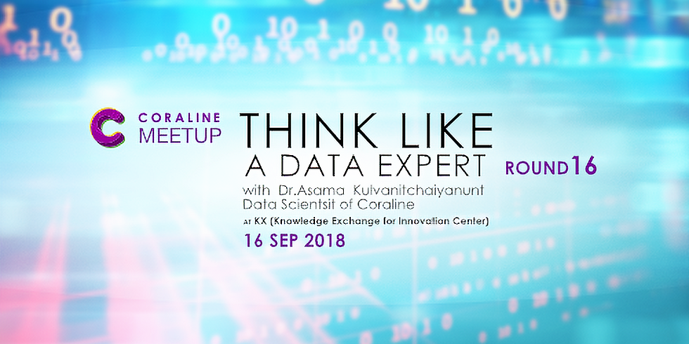 THINK LIKE A DATA EXPERT : ROUND 16 by Coraline