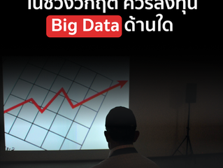 ในช่วงวิกฤตควรลงทุน Big Data ด้านใด