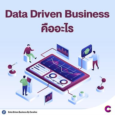 Data Driven Business คืออะไร
