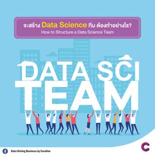 จะสร้าง Data Science Team ต้องทำอย่างไร??