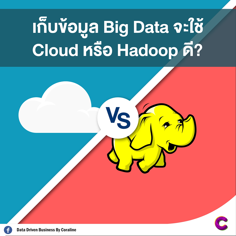 Big Data storage will use Cloud or Hadoop