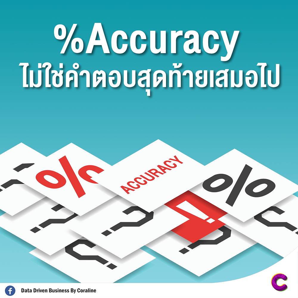 % Accuracy is not always the final answer