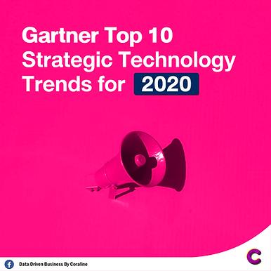 สรุป Gartner Top 10 Strategic Technology Trends for 2020 โดย Coraline
