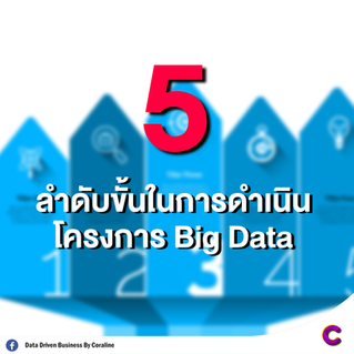5 ลำดับขั้นในการดำเนินโครงการ Big Data