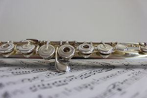 photo of a flute