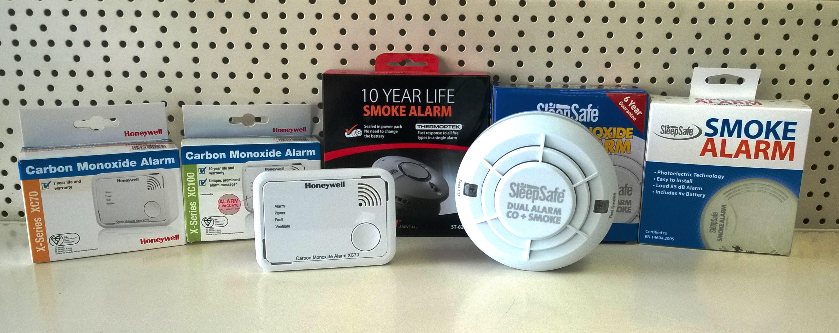 Smoke & CO Alarms