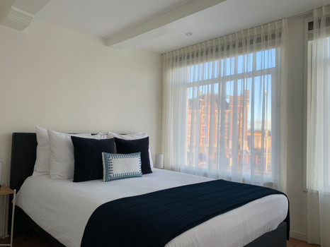 PH93 Amsterdam rooms have comfortable double bed