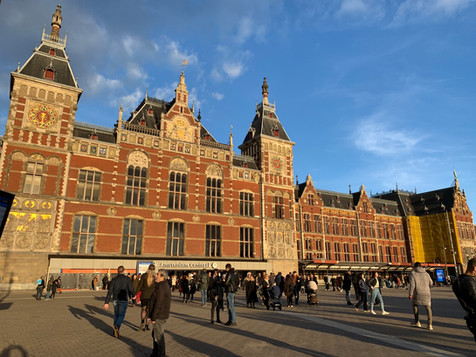 PH93 is located near Amsterdam Central Station