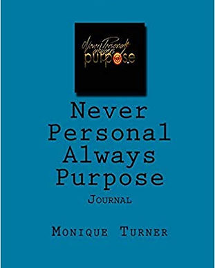 Never Personal Always Purpose Journal- H