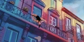 nina hanging from balcony.jpg