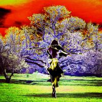 Girl and tree - reggae