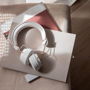 headphones, 100% Human podcast