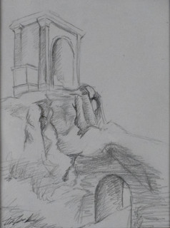Sketch on the Way to The Borghese