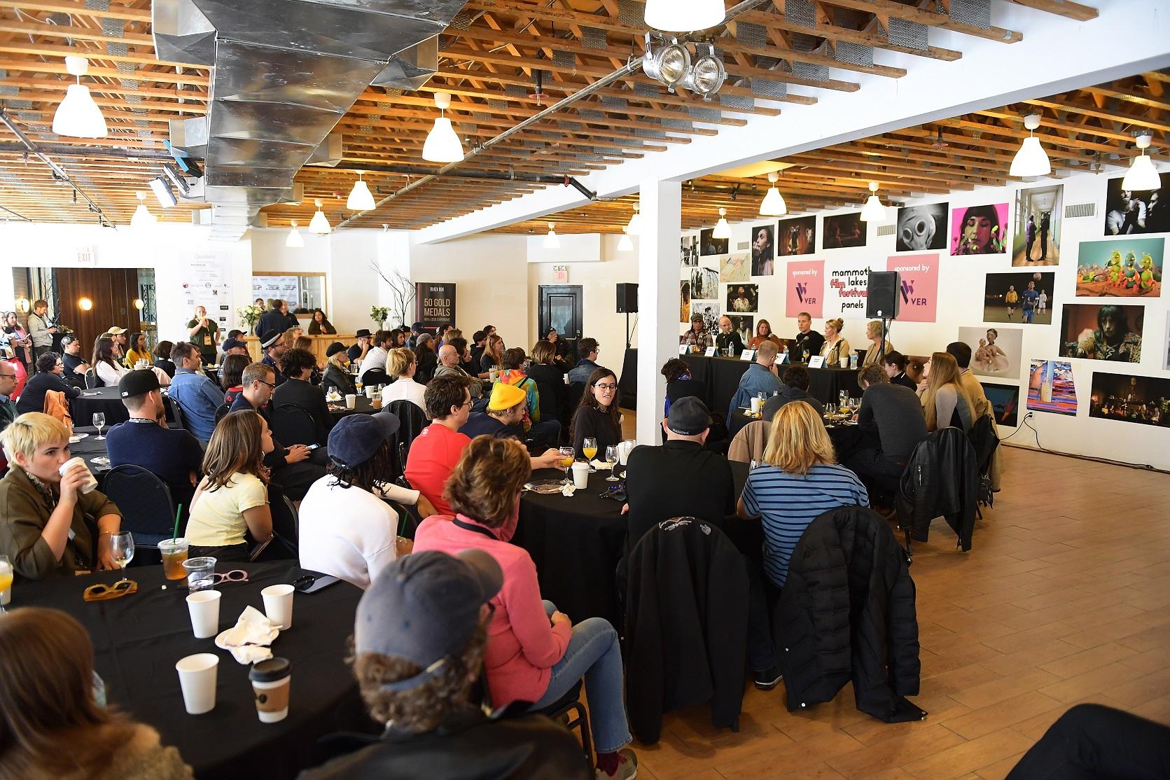 Mammoth Lakes Film Festival Panel Brunch for filmmakers