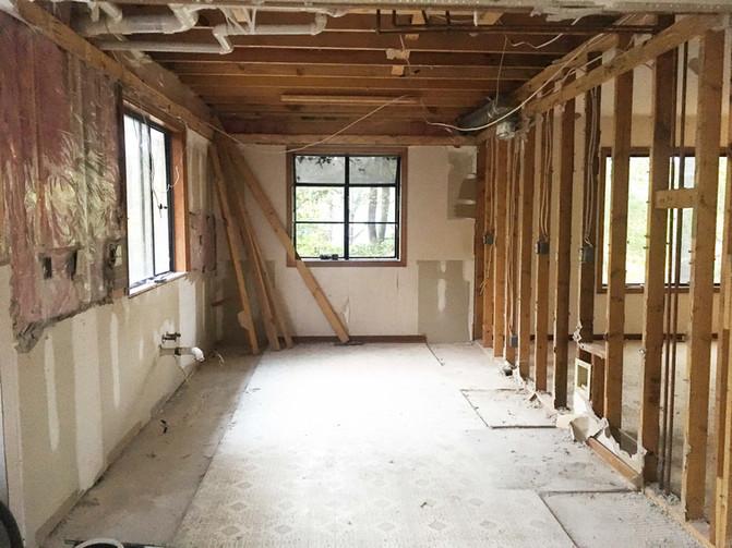 Treehouse Project Renovation: Week 1