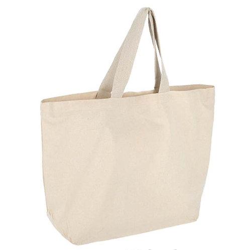 00194     Bolsa de algodón 58 x 40 x 20 cm.