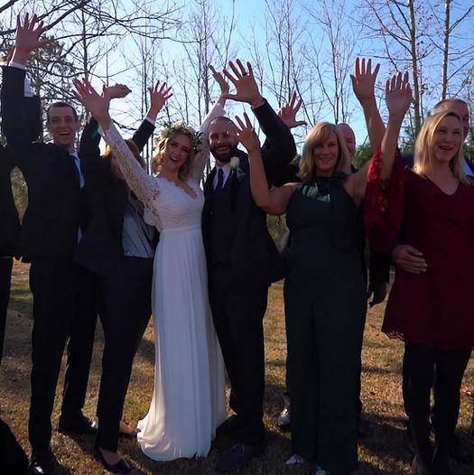 Whitney and Ryan Pruett Wedding HL 12.7.