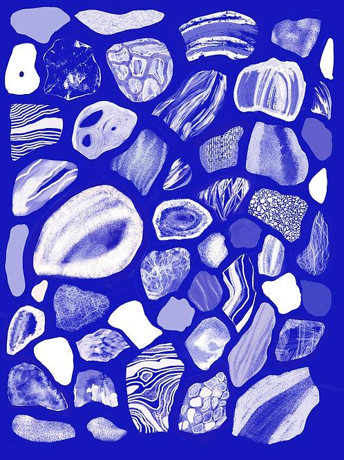Future Fossils Print (A4)