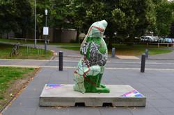Roamin' Hare - GoGoHare Sculpture