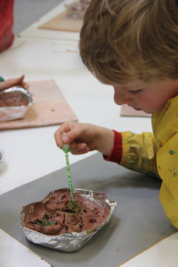 Colouring Clay for Plaster