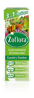 Zoflora 120ml Country Garden Concentrated Disinfectant