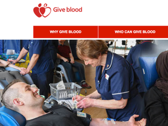 NHS Blood Donations May 2017 at The Lauries
