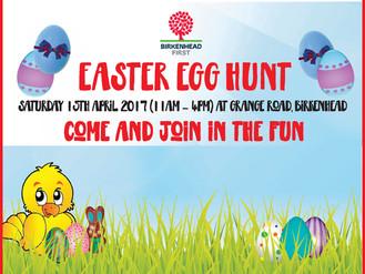 Easter Egg Hunt in The Grange
