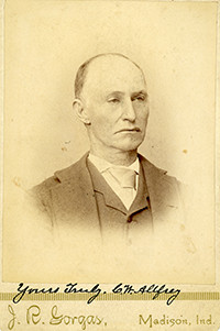 Cabinet card portrait by J.R. Gorgas, Madison, IN