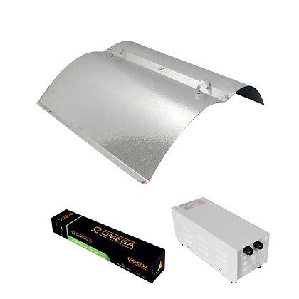 Adjustable Reflector METAL PRO Light Kit 600w