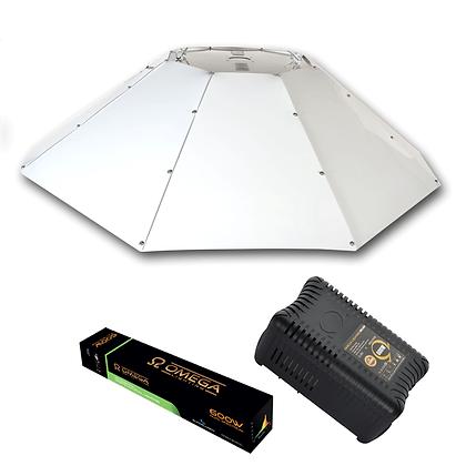 Horizontal Parabolic OMEGA PRO-V Light Kit 600w