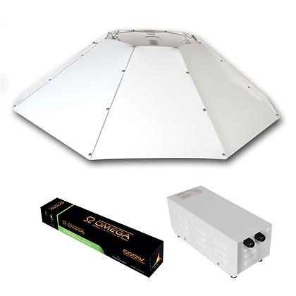 Horizontal Parabolic OMEGA METALPRO Light Kit 600W