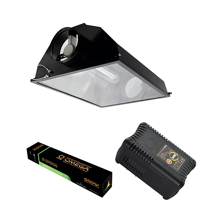 Black Air Cooled Reflector PRO-V Kit 600w