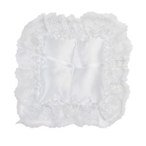 satin square pillow
