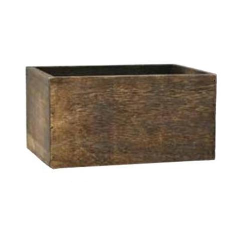 dark washed box