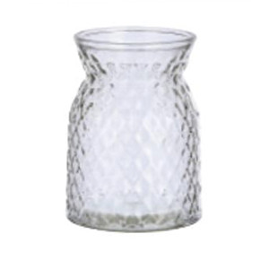 diamond-cut vase